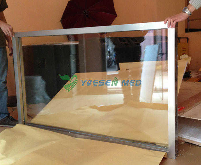 lead glass for x ray protection