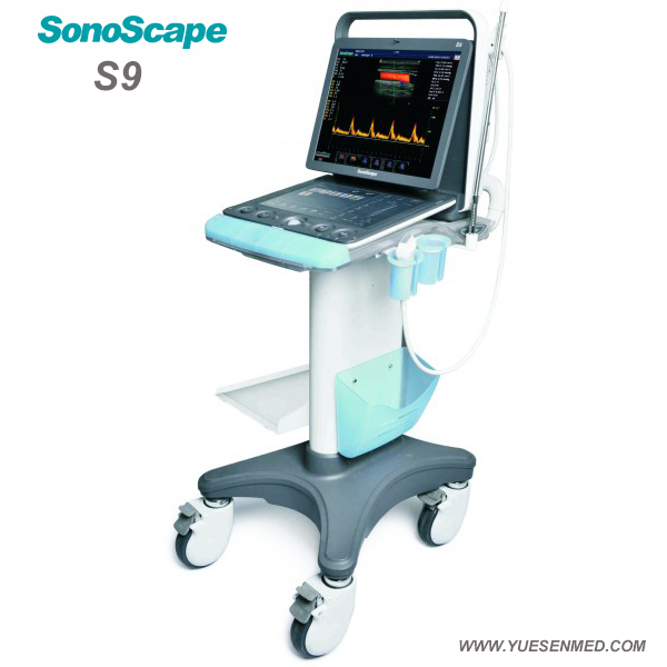 3D 4D color doppler ultrasound sonoscape S9