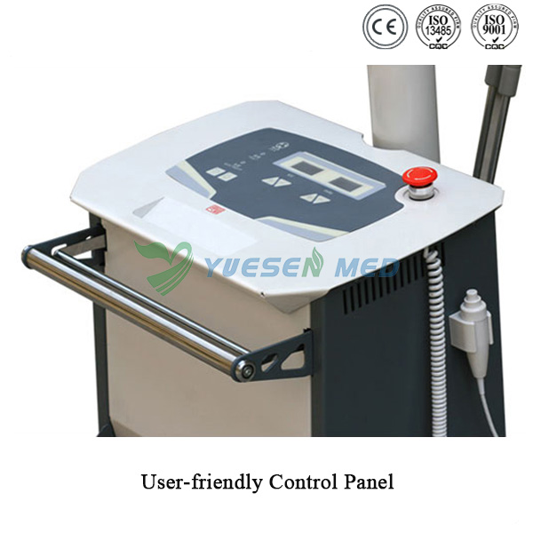 3.5kW mobile x-ray machine user-friendly control pannel