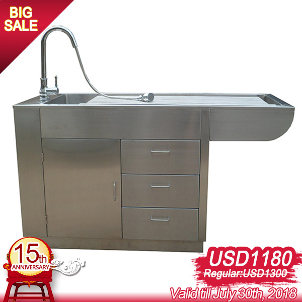 High Quality Stainless Steel Pet Bathing Equipment YSVET0508