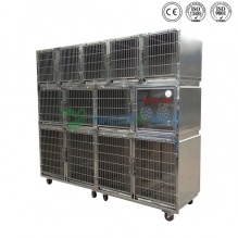 Stainless Steel Pet Combination Cage YSVET0510