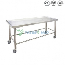 Corpse cart & Simple Autopsy table With Wheel YSTSC-06
