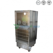 hot sale stainless vet oxygen cage YSVET610B