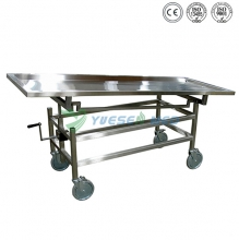 Stainless Steel Corpse cart YSTSC-2B