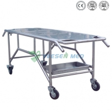 Stainless Steel Corpse cart YSTSC-2A
