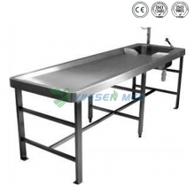 Stainless Steel Autopsy Table YSJP-01