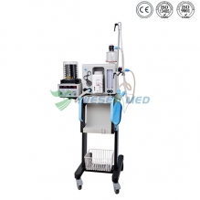 Portable and Mobile Veterinary Anesthesia with Ventilator